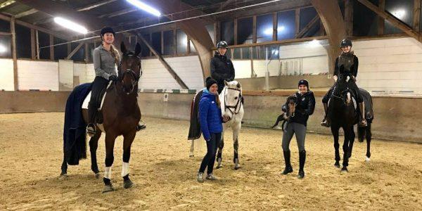 Reitgruppen-Training